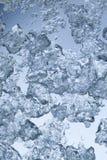 isskärvor Arkivfoto