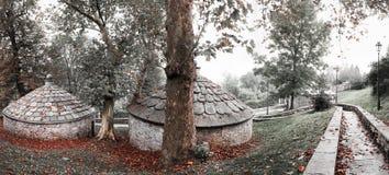 Isskåp av Cazzago Brabbia, Varese Arkivbilder