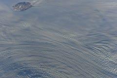 Isskorpa av Grönland Arkivfoto