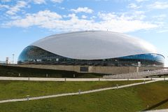 Isslott, Sochi, Ryssland Royaltyfria Bilder