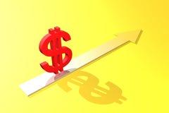 Isso será com dólar? Foto de Stock Royalty Free