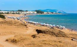 Issos beach Royalty Free Stock Image