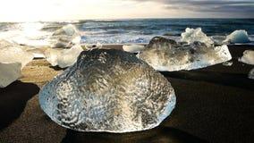IsstrandIsland is- hav för sjö arkivfilmer