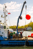Issue of navigational buoys Royalty Free Stock Photo
