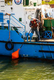 Issue of navigational buoys Royalty Free Stock Photos