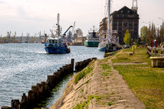 Issue of navigational buoys Royalty Free Stock Images
