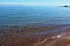 issyk kul βουνό λιμνών Στοκ εικόνα με δικαίωμα ελεύθερης χρήσης