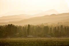 Issyk-Kul jeziora dolina Obraz Stock