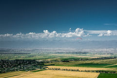 Issyk-Kul jeziora dolina Fotografia Stock