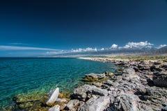 issyk-Kul jezioro Zdjęcie Royalty Free