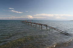 Issyk-Kul Lake Stock Photo