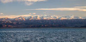 Issyk-Kul Lake Royalty Free Stock Photo