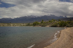 Issyk-Kul lake in Kyrgyzstan Royalty Free Stock Images