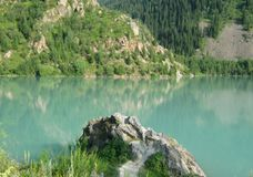 Issyk lake Royalty Free Stock Images