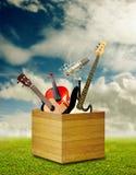 Ist ein wirklicher Seelenmusikinhalt Lizenzfreie Stockfotografie