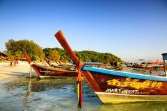 Ist hier der Pier für lokalen Fischer auch Stockfoto