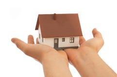 Ist hier Ihr Haus lizenzfreies stockbild