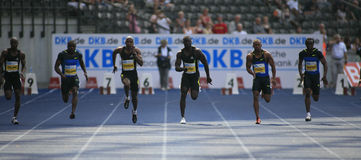 Istaf Berlin International Golden League Athletics Stock Image