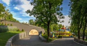 Istambul公园在傲德萨,乌克兰 免版税图库摄影