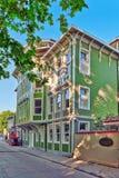 ISTAMBUL, TURKEY-MAY 07日2016年:美好的风景都市图, ci 免版税库存照片
