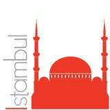 Istambul, иллюстрация вектора Стоковая Фотография