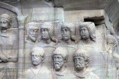 Istambul. The base of the Obelisk of Thutmosis III Stock Photo