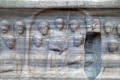 Istambul. The base of the Obelisk of Thutmosis III Royalty Free Stock Photography