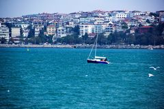 Istambul, Bosphorus imagem de stock royalty free
