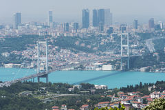Istambul Bosphorus Fotografia de Stock