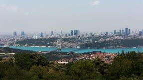 Istambul Bosphorus Fotos de Stock Royalty Free