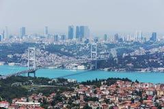 Istambul Bosphorus Foto de Stock Royalty Free