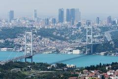 Istambul Bosphorus Fotos de Stock