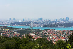 Istambul Bosphorus Imagem de Stock