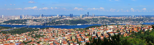 Istanbul Cityscape Stock Images