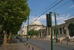 Istambul gatasikt Arkivfoto