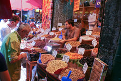Istambul Grand Bazar view Stock Photography
