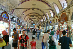 Istambul Grand Bazar view Stock Images