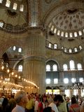Istambul, Hagia Sofia, inside the building Stock Image