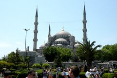 Istambul, Hagia Sofia, mening stock fotografie