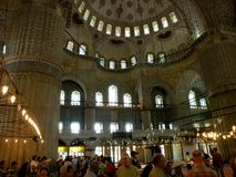 Istambul, inside Hagia Sofia Royalty Free Stock Photo