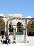 Istambul, mosque. Nice town near Europe and Asia stock images