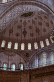 Istambul - sułtanu Ahmed meczetu meczet Fotografia Stock