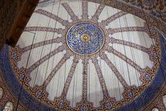 Istambul - sułtanu Ahmed meczetu meczet Zdjęcia Stock