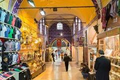 Istambul, Turkey: Mall Grand Bazaar (Kapalıcarsı) in Istanbul, Turkey Royalty Free Stock Photography