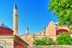 ISTAMBUL TURKEY-MAY 07, 2016: Stads- sikt för härligt landskap, ci Royaltyfria Foton