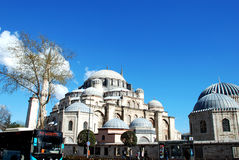 Istambul Turkiet - gå runt om staden 10 04 2015 Arkivfoto