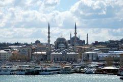 Istambul Turkije - cityscape mening royalty-vrije stock afbeeldingen