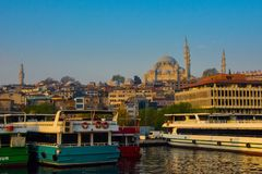 Istambul Turquia fotografia de stock royalty free