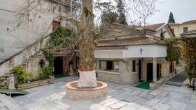 Istambul, Turquia - 5 de abril de 2015: O monastério da mãe do deus, Zeytinburnu, Istambul, Turquia Imagens de Stock