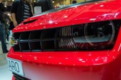 Istambul, Turquia - 10 de novembro de 2012: Feira automóvel 2012 de Istambul em TUYAP Fotos de Stock Royalty Free
